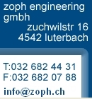 eMail auch OK an zoph[at]bluewin.ch